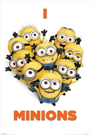 I Love Minions - Despicable Me 2