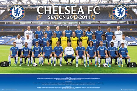 Team Photo 2013/14 - Chelsea Football Club