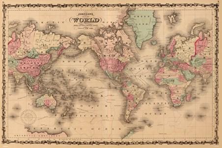 Mercators projection old world map popartuk mercators projection gumiabroncs Images