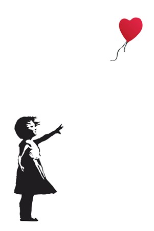 Balloon Girl Banksy Poster