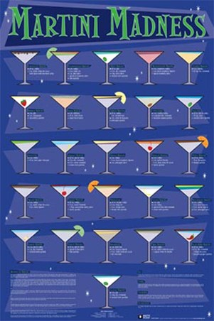 Martini Madness, Classic and Contemporary