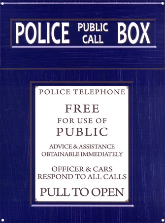 Public Call Box - Police Telephone