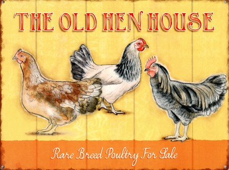 The Old Hen House, Rare Breeds
