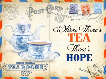 Where There's Tea There's Hope - The Old Colonial Tea Rooms