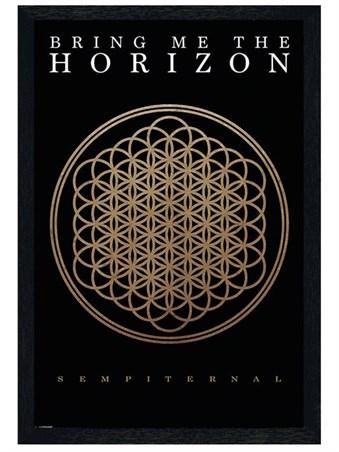 Black Wooden Framed Sempiternal - Bring Me The Horizon