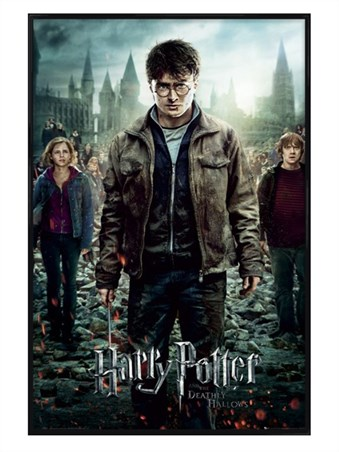Gloss Black Framed The End is Coming! - Harry Potter and the Deathly Hallows