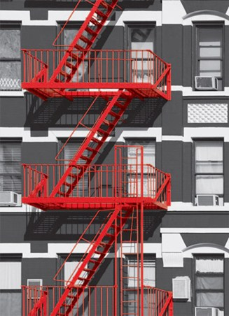 Fire Escape - Colourlight Photography