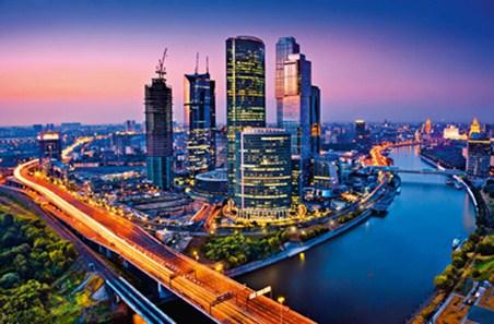 Moscow Twilight - Neon Metropolis