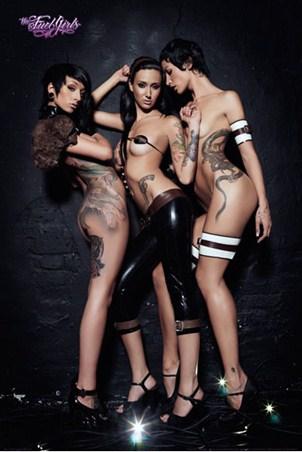 Tattooed Beauties - Fuel Girls