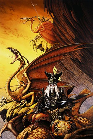 The Dragon Lord - By Rodney Matthews
