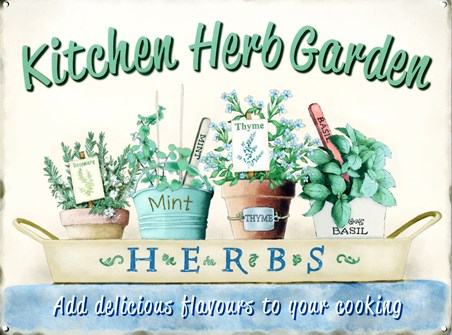 Kitchen Herb Garden - Complimentary Cooking