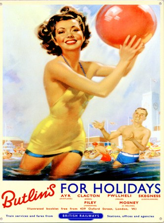 Butlins, For Holidays!