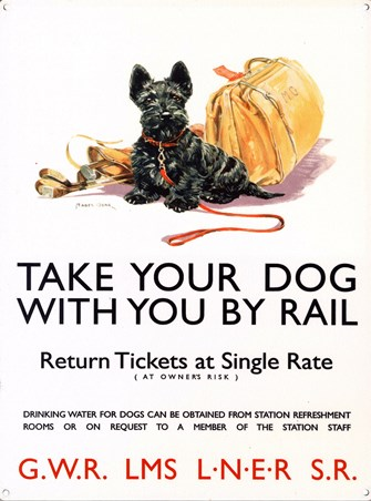 Take Your Dog By Rail - National Railway Museum