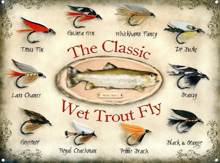 Framed The Classic - Wet Trout Fly