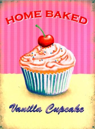 Home Baked - Vanilla Cupcake