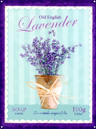 Framed Old English Lavender - Lavandula Angustifolia Soap