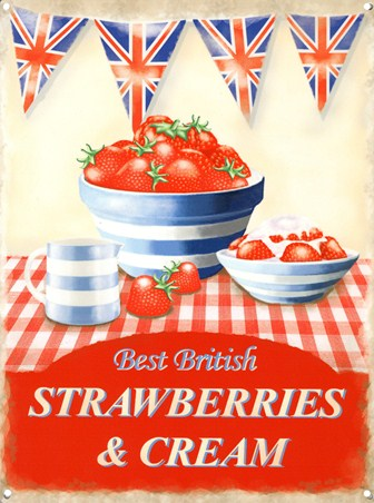 Best of British - Strawberries and Cream