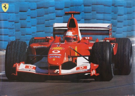 Ferrari F1 Car - Formula 1 Grand Prix Racing