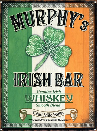Murphy's Irish Bar, Genuine Irish Whiskey