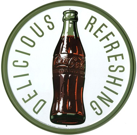 Refreshing Coke Bottle - Coca Cola