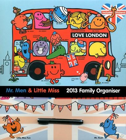 Mr Men & Little Miss Activity Organiser - Mr & Mrs Organised