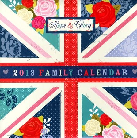 Hope & Glory Family Organiser - British Brilliance