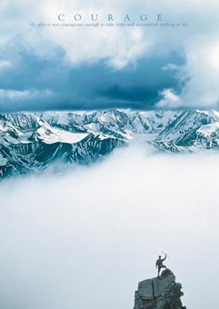 Mountain Summit - Courage, Aspirational
