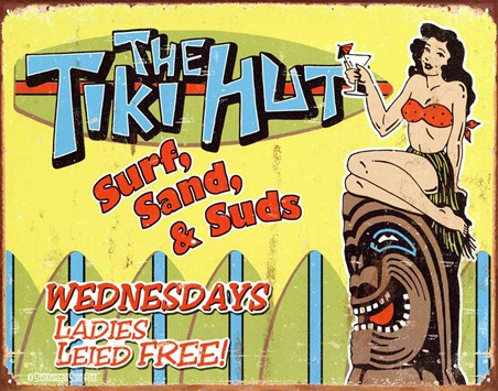 Surf, Sand & Suds - The Tiki Hut