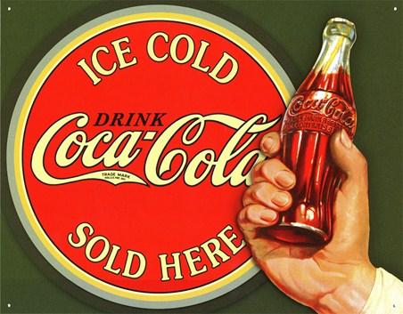 Ice Cold Bullseye - Coca Cola