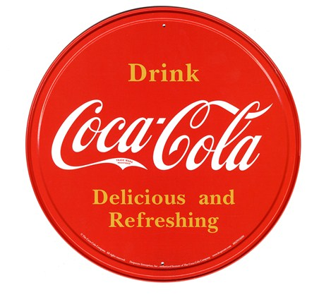 Bottle Top Logo - Coca Cola