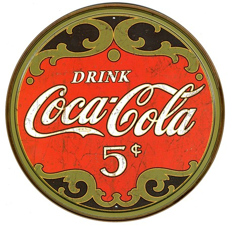 Only 5 Cents - Coca Cola