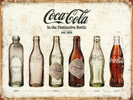 Bottle Evolution, Coke