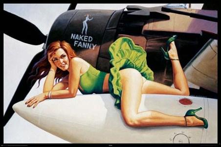 Aeroplane Girl - Greg Hildebrandt