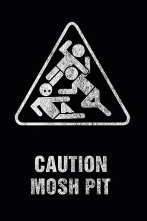 Framed Mosh Pit - Art Worx