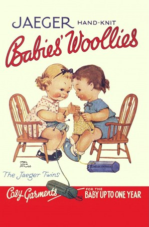 The Jaeger Twins - Mabel Lucie Attwell