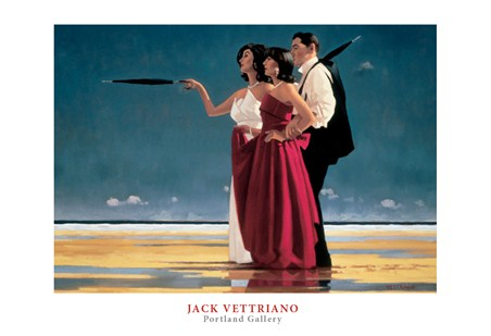 The Missing Man I - Jack Vettriano