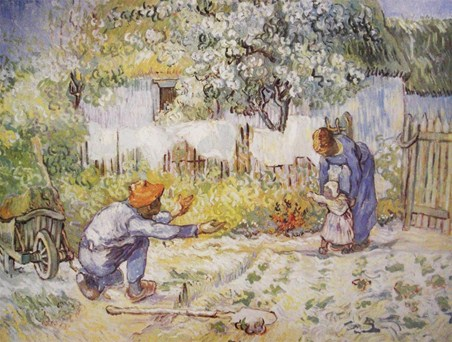 First Steps - Vincent van Gogh