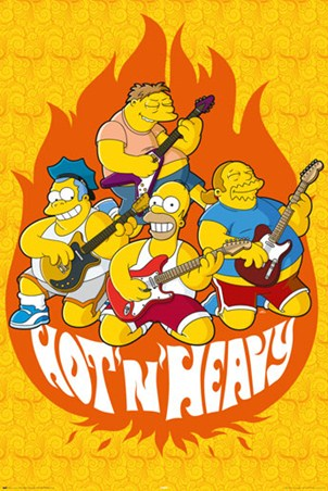 Hot and Heavy - The Simpsons