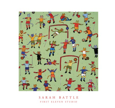 Football Cats - Sarah Battle