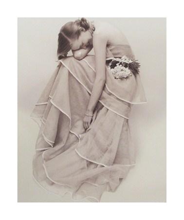 Tiered Evening Dress, March 1951 - Norman Parkinson