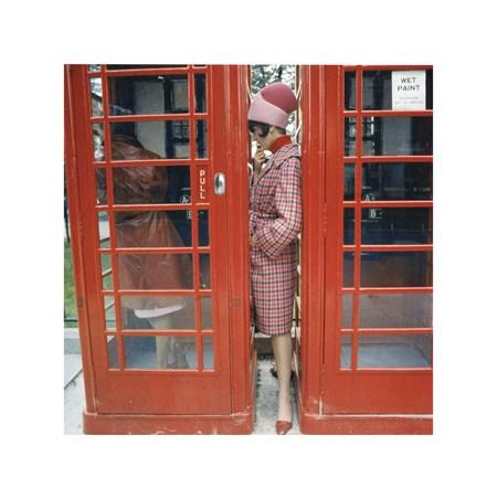 Phone Box - London 1963