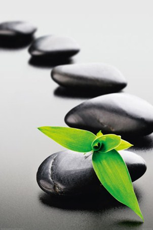 Tranquility Zen Stones Popartuk