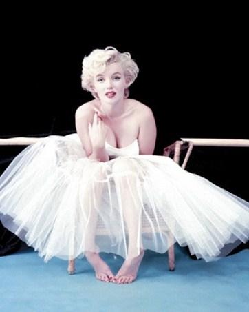 White Tulle - Marilyn Monroe