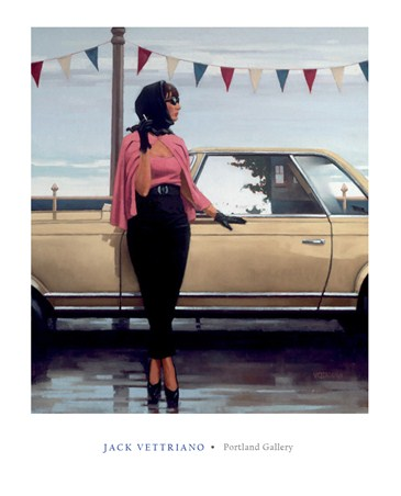 Suddenly One Summer - Jack Vettriano