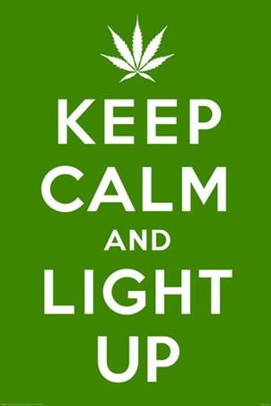 Keep Calm & Light Up -