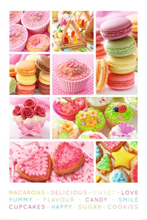 Sweet Collage - Cakes Galore
