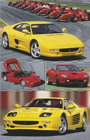 Historic Ferrari - Composition Photos