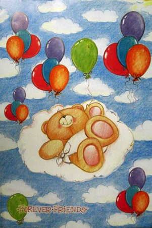 Baby Balloons - Forever Friends