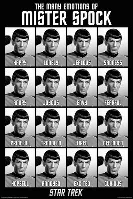 The Many Emotions of Mister Spock - Star Trek