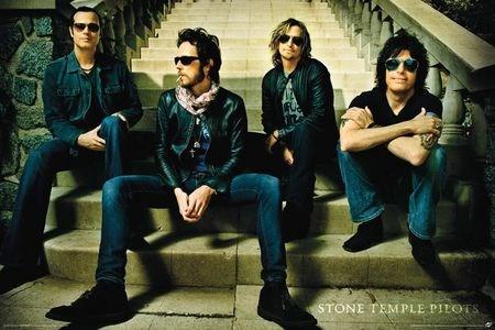 Framed San Diego Rockers - Stone Temple Pilots